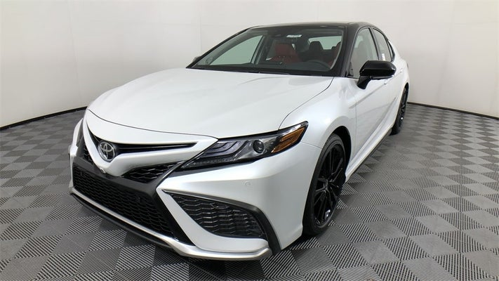 new 2021 toyota camry xse v6   serving chattanooga