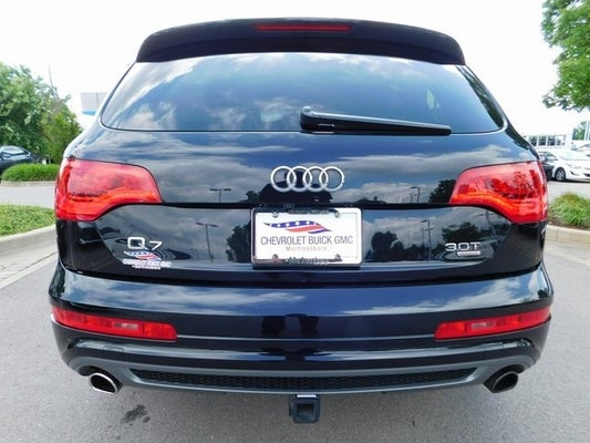 2015 audi q7 3 0t s line prestige quattro in knoxville, tn - toyota  knoxville